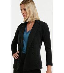blazer feminino neoprene manga longa gups