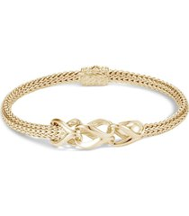 'asli classic chain' 18k gold medium bracelet
