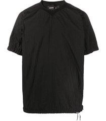 nemen short sleeve nylon t-shirt - black