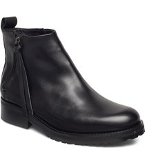 ave zip boot shoes boots ankle boots ankle boot - flat svart royal republiq