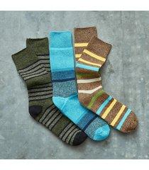 snow days socks, set of 3