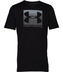 ua boxed sportstyle ss t-shirts short-sleeved svart under armour