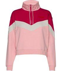 cut n sew sweat sweat-shirt tröja rosa wrangler