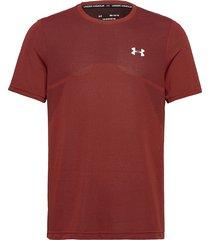 seamless ss t-shirts short-sleeved röd under armour