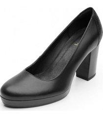 zapato mujer bonnie negro flexi