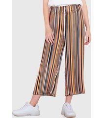 pantalón wados arrugado est multicolor - calce holgado