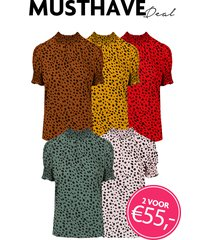 musthave deal cheetah col tops