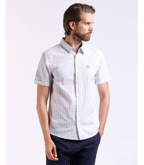camisa bicolor stripes