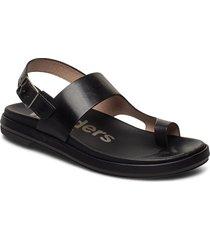 b-7404-f shoes summer shoes flat sandals svart wonders