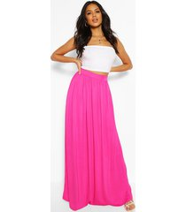 basic lang maxi-shirt, warm roze