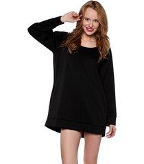 bluza z kieszeniami czarna