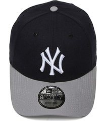 boné new era snapback 940 team color new york yankees azul-marinho/cinza
