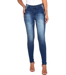 calã§a jeans jegging guess - azul marinho - feminino - dafiti