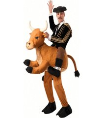 buy seasons men's ride a bull pull-on pants costume