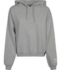 alexander wang foundation terry hoodie