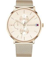 reloj tommy hilfiger 1781944 plateado -superbrands