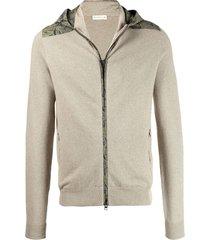 etro hooded sweatshirt - neutrals