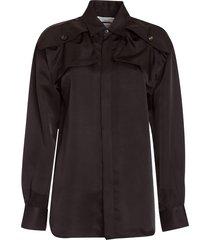 bottega veneta patch pocket shirt