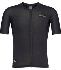 adv aero jersey m t-shirts short-sleeved svart craft