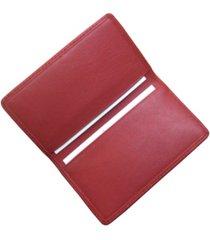 royce slim business card case in genuine leather