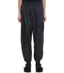 gmbh pants in black polyamide