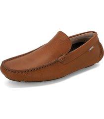 zapato miel preppy mocasin guarani