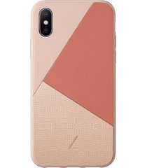 clic marquetry iphone xs max case - rose