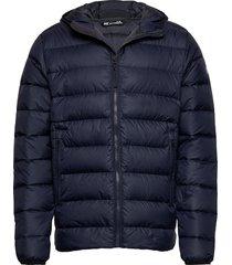 svalbard down jacket fodrad jacka blå helly hansen