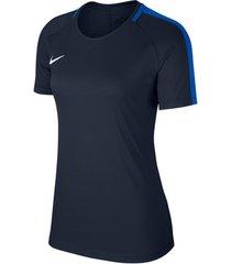 t-shirt korte mouw nike dry academy 18 ss top women