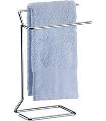 porta toalha de rosto para bancada cromado