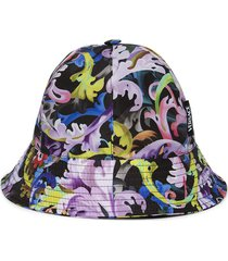 baroccoflage print bucket hat multicolor