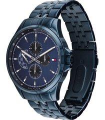 reloj azul tommy hilfiger 1791618 - superbrands