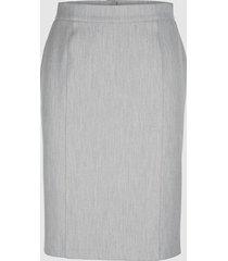 kjol med formande effekt miamoda silvergrå
