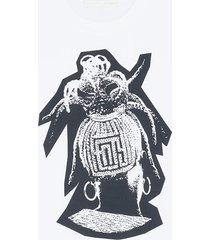 fenty fenty braids-print oversized t-shirt - white