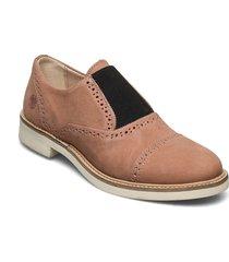 grace w leather shoe loafers låga skor brun sneaky steve