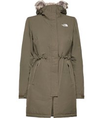 w rec zaneck jkt parka lange jas jas groen the north face