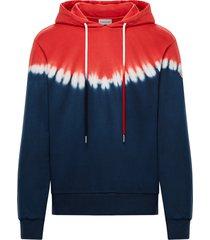 men's moncler tie dye hoodie