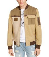 sun + stone men's redondo bomber jacket, created for macy's