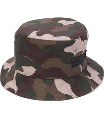 mackintosh barr camouflage bucket hat - green