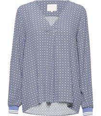 pax bl blouse lange mouwen blauw part two