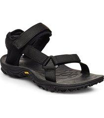 kahuna web shoes summer shoes flat sandals svart merrell