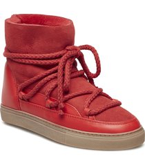 inuikii sneaker classic shoes boots ankle boots ankle boot - flat röd inuikii