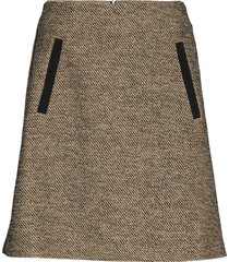 crocevia knälång kjol beige max&co.