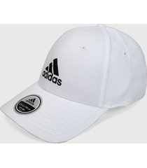 gorra blanco-azul adidas performance bball cap