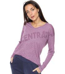 buzo violeta darling sport con capucha