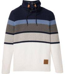 maglione a collo alto (blu) - john baner jeanswear