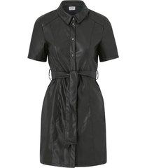 skjortklänning jdyvera faux leather belt dress