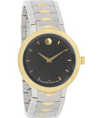 reloj  movado 607043 multicolor acero inoxidable