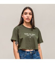camiseta amplia corta manga corta jocel