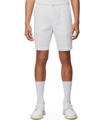 boss men's slice white shorts